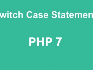 جملة التبديل الشرطيةSwitch Case
